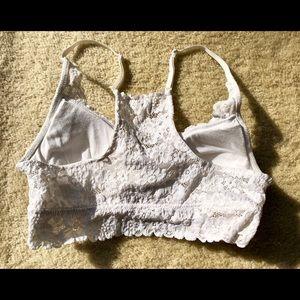 aerie Intimates & Sleepwear - Aerie White Lace Bralette
